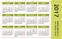 pracovní kalendář