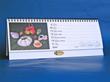 firemní kalendář s potiskem stojanu
