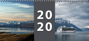 Plánovací kalendář 2020 - stolní týdenní - titulní strana