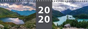 Klasický stolní kalendář roku 2020 - týdenní - jmenný - titulní strana