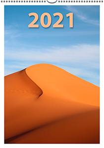 Nástěnný měsíční -  297 × 420 - kalendárium
