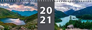 Klasický stolní kalendář roku 2021 - týdenní - jmenný - titulní strana