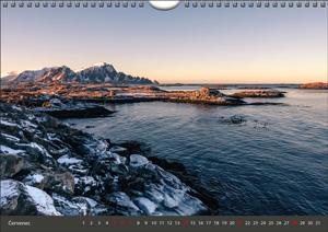 Nástěnný měsíční - 297 × 210 - kalendárium