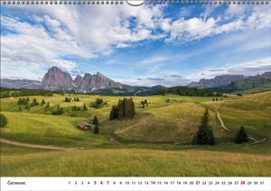 Nástěnný měsíční - 420 × 297 - kalendárium
