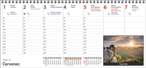 plánovací kalendář - kalendárium