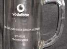 účastnická sklenice vodafone - user group meeting Prague 2006